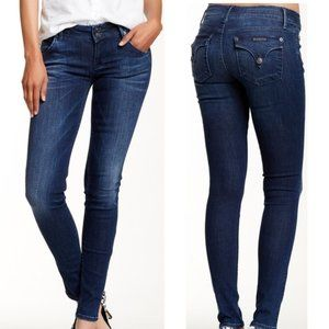 HUDSON Collin Skinny denim flap pocket jeans